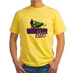 Winter Rules Yellow T-Shirt