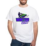 Winter Rules White T-Shirt