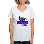 Winter Rules Women's V-Neck T-Shirt