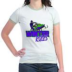 Winter Rules Jr. Ringer T-Shirt