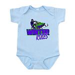 Winter Rules Infant Bodysuit