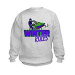 Winter Rules Kids Sweatshirt