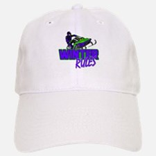 Winter Rules Baseball Baseball Cap