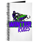 Winter Rules Journal