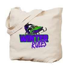 Winter Rules Tote Bag
