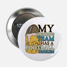 """Football Drinking Team 2.25"""" Button (10 pack)"""