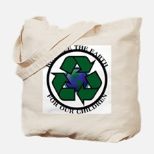 Recycle the Earth Tote Bag