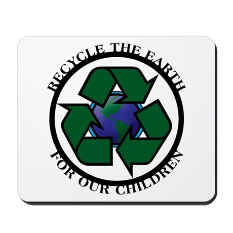 Recycle the Earth Mousepad