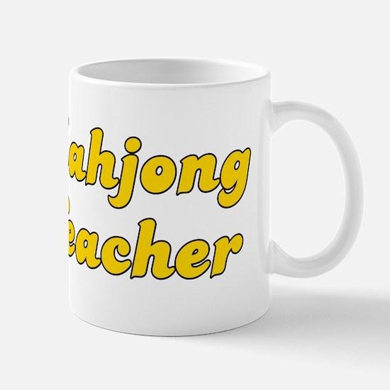 Retro Mahjong Tea.. (Gold) Mug