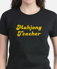 Retro Mahjong Tea.. (Gold) Tee