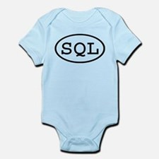 SQL Oval Infant Bodysuit