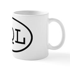 SQL Oval Mug