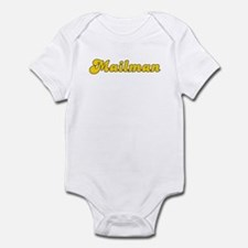 Retro Mailman (Gold) Infant Bodysuit