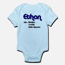 Ethan (Also Known As) Onesie