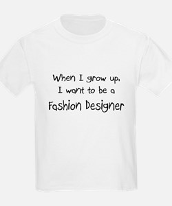 When I grow up I want to be a Fashion Designer Kid