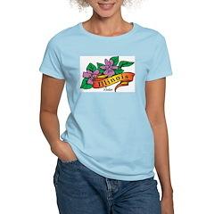 Illinois Women's Pink T-Shirt