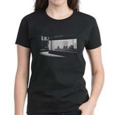 Nighthawks Women's Black T-Shirt