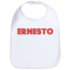 Retro Ernesto (Red) Bib