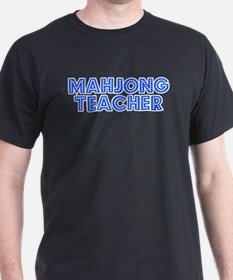 Retro Mahjong Tea.. (Blue) T-Shirt