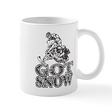 Got Snow Distressed black Mug