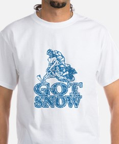 Got Snow Distressed Image in Shirt