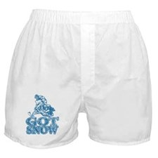 Got Snow Distressed Image in Boxer Shorts