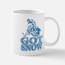 Got Snow Distressed Image in Mug