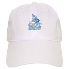 Cute Snowmobile Baseball Cap