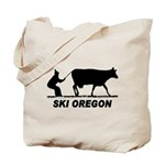 Ski Oregon Tote Bag