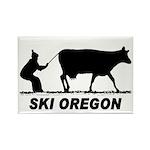 Ski Oregon Rectangle Magnet (10 pack)