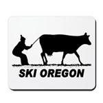 Ski Oregon Mousepad