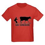Ski Oregon Kids Dark T-Shirt
