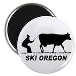 """Ski Oregon 2.25"""" Magnet (100 pack)"""
