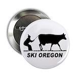 """Ski Oregon 2.25"""" Button"""