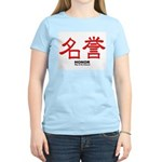 Samurai Honor Kanji Women's Pink T-Shirt