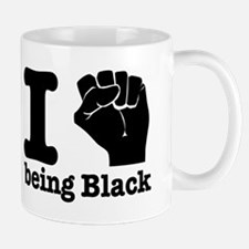 I love being black Mug
