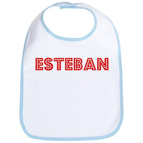 Retro Esteban (Red) Bib