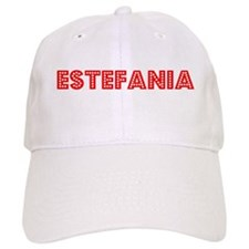 Retro Estefania (Red) Baseball Cap