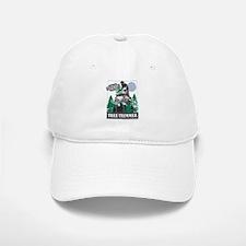 Official Snowmobiler Tree Tri Baseball Baseball Cap