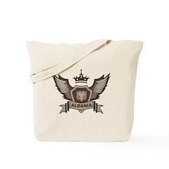 Albania Emblem Tote Bag