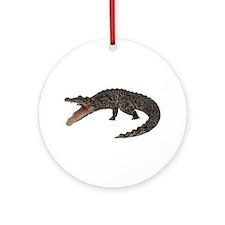 Crocodile Ornament (Round)