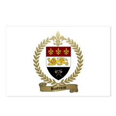 BASTINEAU Family Crest Postcards (Package of 8)