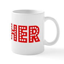 Retro Esther (Red) Mug