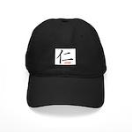 Samurai Loving Kanji Black Cap