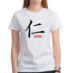 Samurai Loving Kanji (Front) Women's T-Shirt