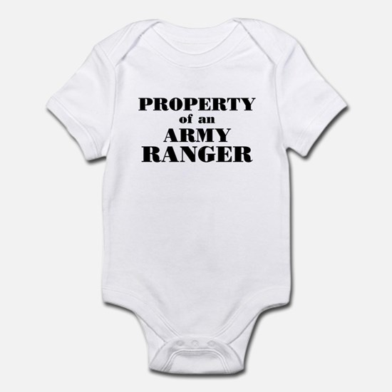 Property of an Army Ranger Infant Bodysuit