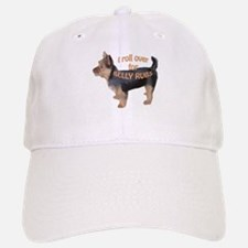 Australian terrier Belly rub Baseball Baseball Cap