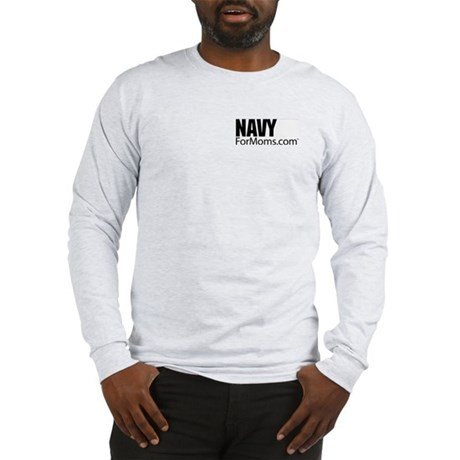Navy For Mom's Long Sleeve T-Shirt