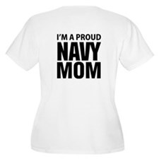 Navy For Mom's T-Shirt