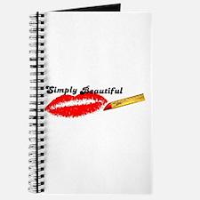 SIMPLY BEAUTIFUL HOT LIPS Journal
